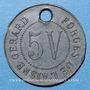 Coins Crouy (02). Forges de l'Aisne. 5V