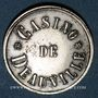 Coins Deauville (14). Casino. Jeton sans valeur. Maillechort