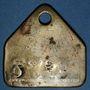 Coins Forbach (57). Les Puits Simon. Jeton de présence, n° matricule 1176