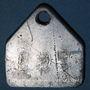 Coins Forbach (57). Les Puits Simon. Jeton de présence, n° matricule 751