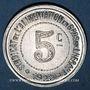 Coins Hérault (34). Syndicat de l'Alimentation en Gros. 5 centimes 1922, type fauté avec HERAUT