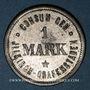 Coins Illkirch-Graffenstaden (67). Consum-Genossenschaft (1873-79). 1 mark