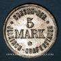 Coins Illkirch-Graffenstaden (67). Consum-Genossenschaft (1873-79). 5 mark