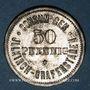 Coins Illkirch-Graffenstaden (67). Consum-Genossenschaft (1873-79). 50 pfennig