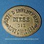 Coins Infanterie. 107e. Mess des Sous-Officiers. Angoulême (16). 5 centimes