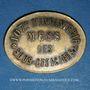 Coins Infanterie. 107e. Mess des Sous-Officiers. Angoulême (16). 50 centimes