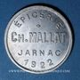 Coins Jarnac (16). Epicerie Ch. Mallat. 10 centimes 1922