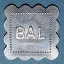 Coins Jeton de bal anonyme. Bon pour 1 danse