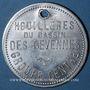 Coins Les Cévennes (30). Houillères du Bassin des Cévennes - Groupe centre. 1 sac de bois. Frappe médaille