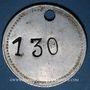 Coins Les Cévennes (30). Houillères du Bassin des Cévennes. Jeton de lampisterie, H.B.C. N° 130