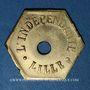 Coins Lille (59). L'Indépendante. 1 jeton et demi