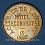 Coins Longwy (54). Aciéries de Longwy - Hôtel Economat. 50 centimes 1883