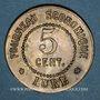 Coins Lure (70). Fourneau Economique. 5 centimes