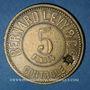 Coins Lyon (69). Bernard Levy & Cie. 5 francs