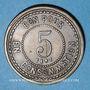 Coins Lyon (69). Brasserie Georges. 5 centimes