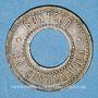 Coins Lyon (69). Brasserie Georges. 50 centimes (?) troué