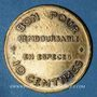 Coins Lyon (69). Eden-Bars. 10 centimes Remboursable