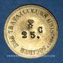 Coins Lyon (69). Société des Travailleurs Unis. 25 centimes