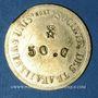 Coins Lyon (69). Société des Travailleurs Unis. 50 centimes