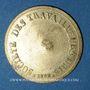 Coins Lyon (69). Société des Travailleurs Unis. sans valeur. Contremarque au revers