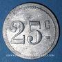 Coins Marseille (13). Cercle d'Arenc. 25 centimes. Inédit !