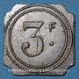 Coins Marseille (13). Exposition Coloniale (1922) - Ferme Provençale, Restaurant-Brasserie. 3 francs
