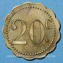 Coins Martigny-les-Bains (88). Casino. 20 centimes