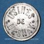 Coins Mesnay (39). Usine de Mesnay. 2 francs