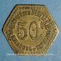 Coins Mulhouse (68, Alsace). Société des Débitants de Mulhouse et Environs. 50 centimes