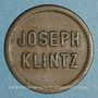 Coins Mulhouse (68). Joseph Klintz, restaurant. 10 pfennig