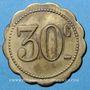 Coins Nancy (54). Café de la Tête d'Or (14 rue des Ponts). 30 centimes