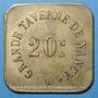 Coins Nancy (54). Grande Taverne (17, rue St Dizier). 20 centimes