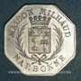 Coins Narbonne (11). Grands Magasins du Printemps, Maison Milhaud. 10 centimes 1917, aluminium