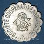 Coins Ottange (57). Société Coopérative de Nondkeil. 25 centimes. Maillechort