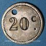 Coins Paris (75) - Le Polo. 20 centimes