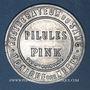 Coins Paris (75). Pilules Pink. 5 centimes (vert/rouge)