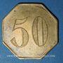 Coins Paris (75). Restaurant Le Cardinal (Rue Richelieu). 50 centimes