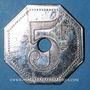 Coins Paris (75). Restaurant Le Meunier (9 rue de Berry). 5 francs