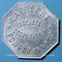 Coins Pompey (54). Société Coopérative La Ruche. 1 kg pain, avec contremarque rectangulaire