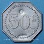 Coins Pompey (54). Société Coopérative La Ruche. 50 centimes