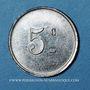 Coins Pussay (91). Approvisionnement Généraux, Michau. 5 centimes