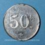 Coins Pussay (91). Approvisionnement Généraux, Michau. 50 centimes