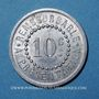 Coins Réalmont (81). Pharmacie F. Gisclard. 10 centimes 1922