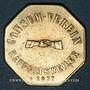 Coins Ribeauvillé (68). Consum Verein. Fünf Pfund Brod (5 livres de pain). 1877. Flan mince