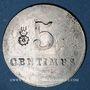 Coins Roanne (42). Ville de Roanne. Fourneaux Economiques. 5 centimes