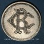 Coins Royat (63). Casino Municipal. 5 francs. Maillechort