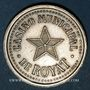 Coins Royat (63). Casino Municipal. Jeton sans valeur. Maillechort