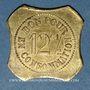 Coins Saint-Etienne (42). Café J. Seyre Fils Ainé à Bérard - Vins en Gros. 12 centimes 1/2
