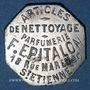 Coins Saint-Etienne (42). Parfumerie -  Articles de Nettoyage, F. Epitalon. 25 centimes