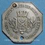 Coins Saint-Etienne (42). Tramways à Vapeur, Bellevue, Terrasse, St Etienne, Firminy, ..., 10 centimes